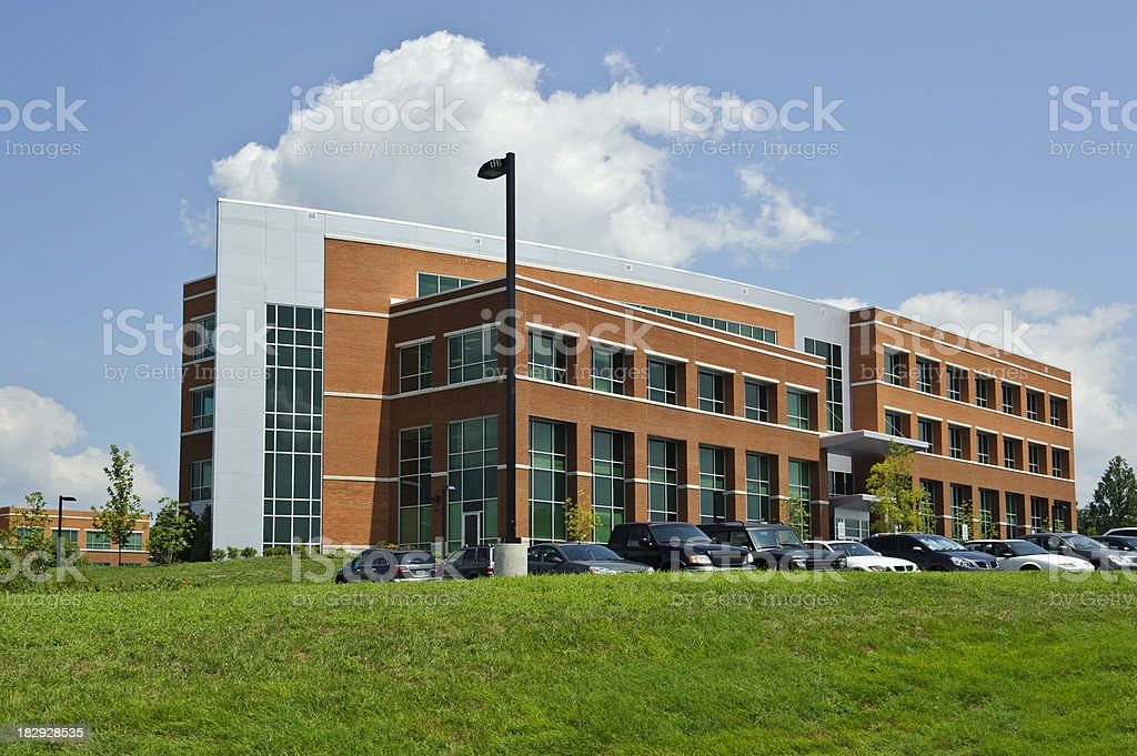 Generic Office Building, School, Hospital, Government Facility stock photo