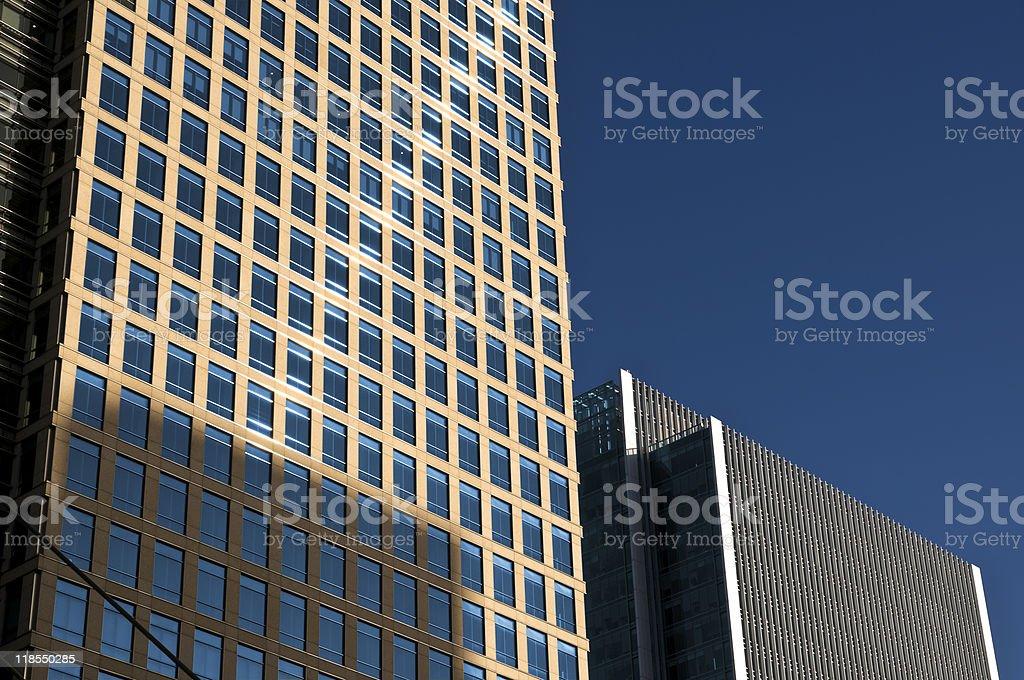 Generic Office Buildings stock photo