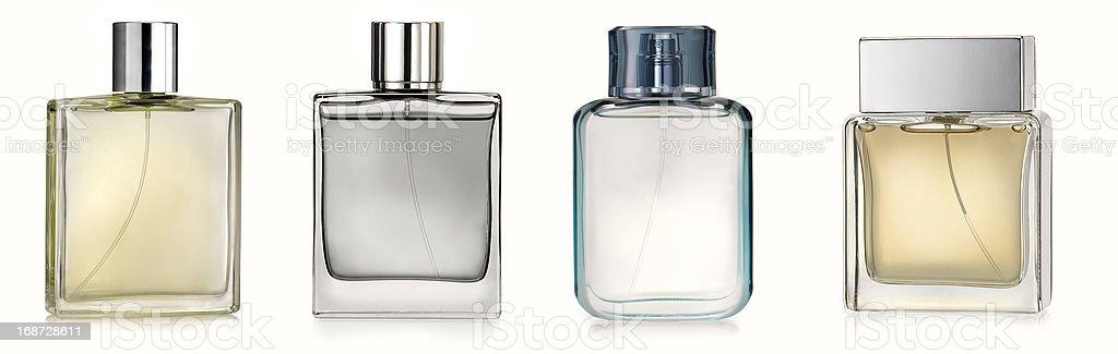 Generic perfume bottles stock photo