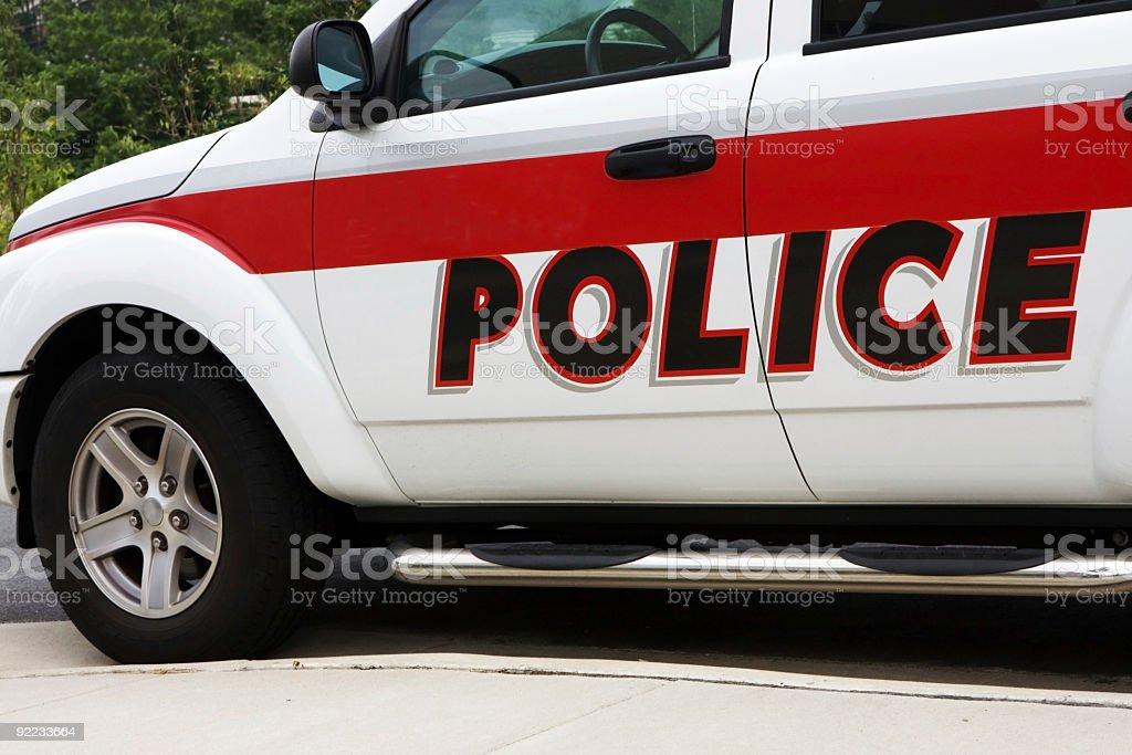 Generic Police Vehicle stock photo