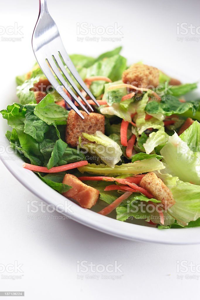 Generic Salad close up royalty-free stock photo