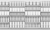 istock Generic Shopping Shelves 1018169628