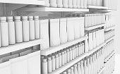 istock Generic Shopping Shelves 1018169630