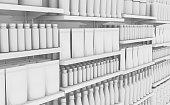 istock Generic Shopping Shelves 1018169662