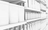 istock Generic Shopping Shelves 1018169672