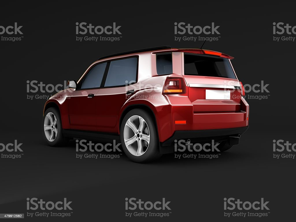 Generic SUV stock photo