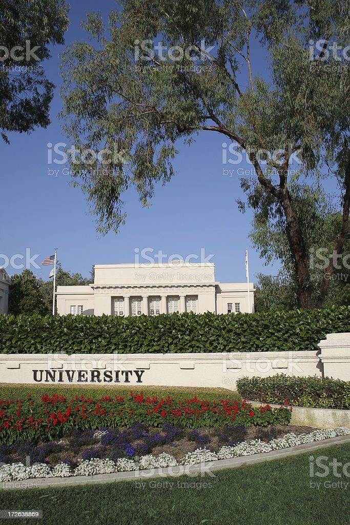 Generic University Campus stock photo