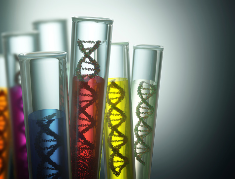 Genetic Code Manipulation Stock Photo - Download Image Now