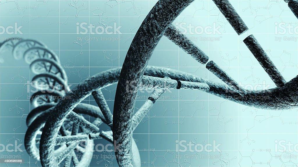 Genetic DNA stock photo