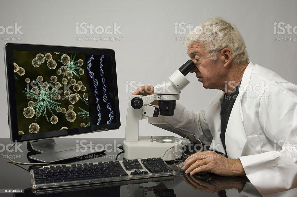 Genetic Engineer royalty-free stock photo