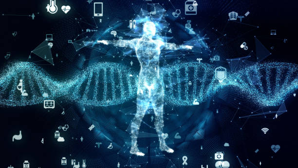 Genetic engineering concept. DNA. Gene therapy. Medical technology. Genetic engineering concept. DNA. Gene therapy. Medical technology. medical technology stock pictures, royalty-free photos & images