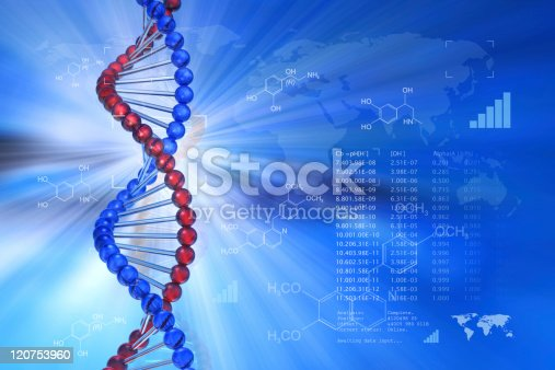istock Genetic engineering scientific concept 120753960