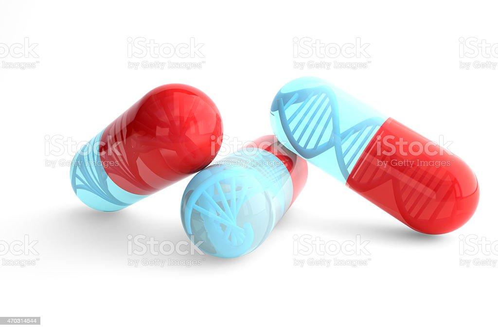 Genetic Medicine stock photo