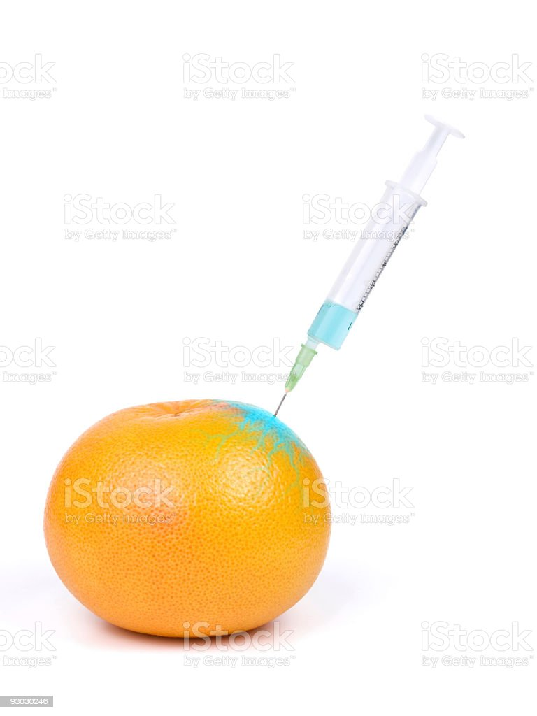genetic modification w clipping path royalty-free stock photo