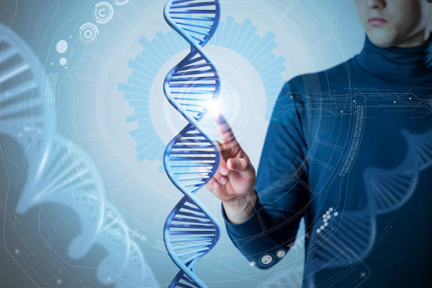 genetic technology concept, gene engineering, 3d rendering, abstract image visual genetic technology concept, gene engineering, 3d rendering, abstract image visual gene therapy stock pictures, royalty-free photos & images