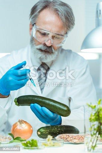 istock Genetically modified food 908033882