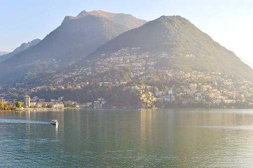 Geneva Cityscape and Lake Geneva, Switzerland