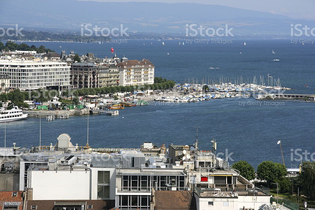 Geneva royalty-free stock photo