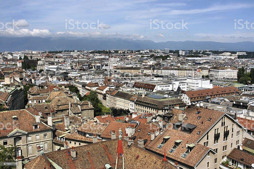 Geneva royalty-free stock photo