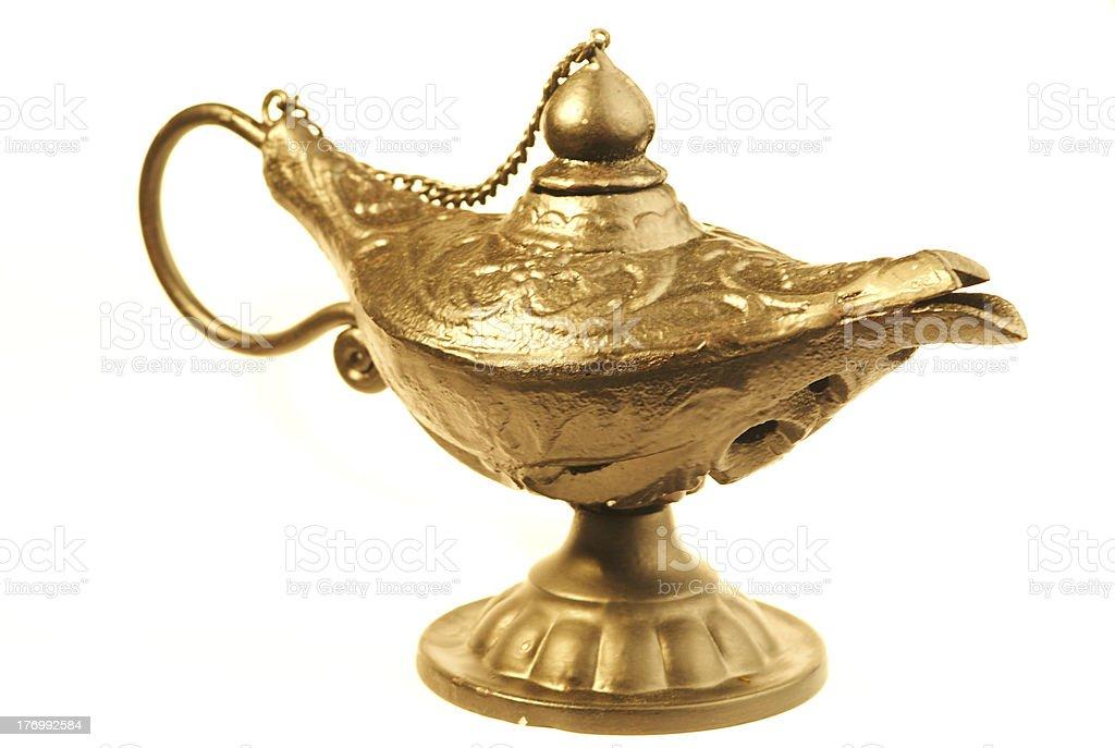 Genies lamp stock photo