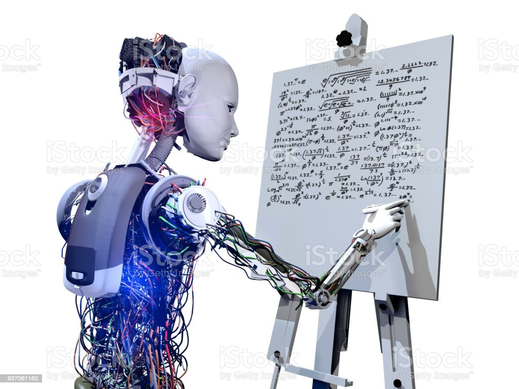 Genie-Cyborg und Zukunft der künstlichen Intelligenz – Foto
