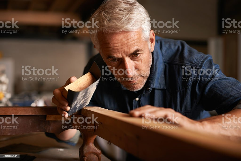 Genius Is 1 Talent And 99 Hard Work Royalty Free Stock Photo