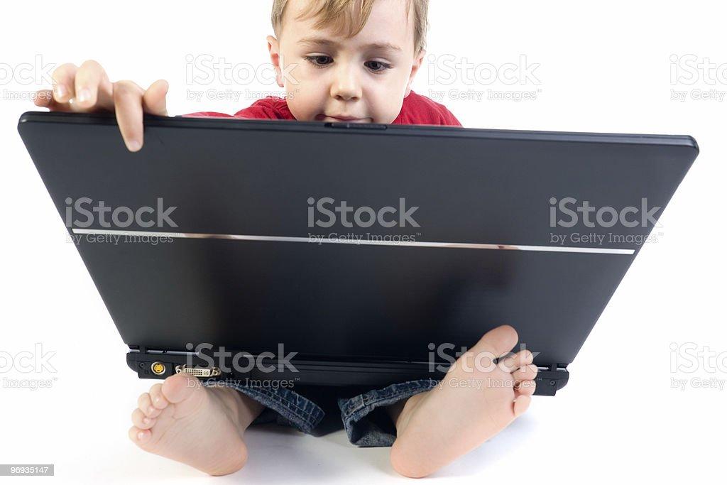 Genius Kid royalty-free stock photo
