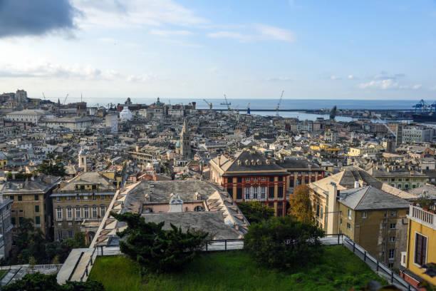 Genoa - Genova Panorama stock photo