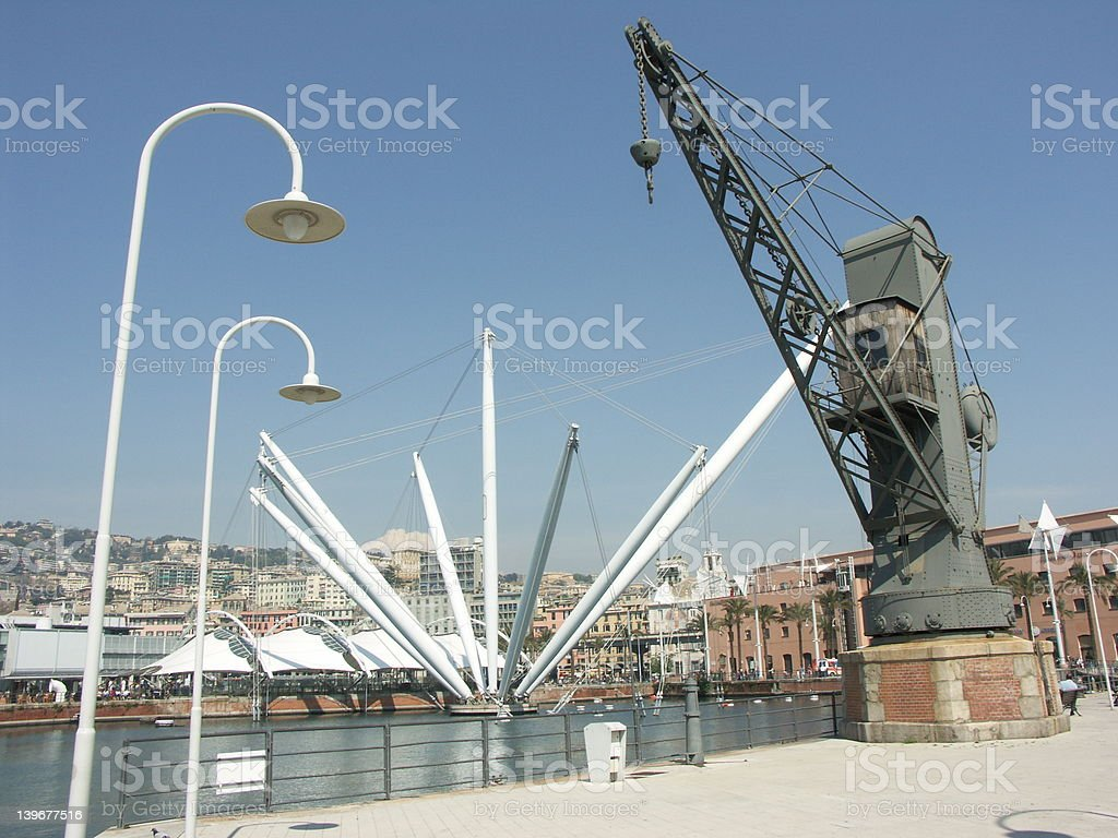 Genoa - Italy royalty-free stock photo