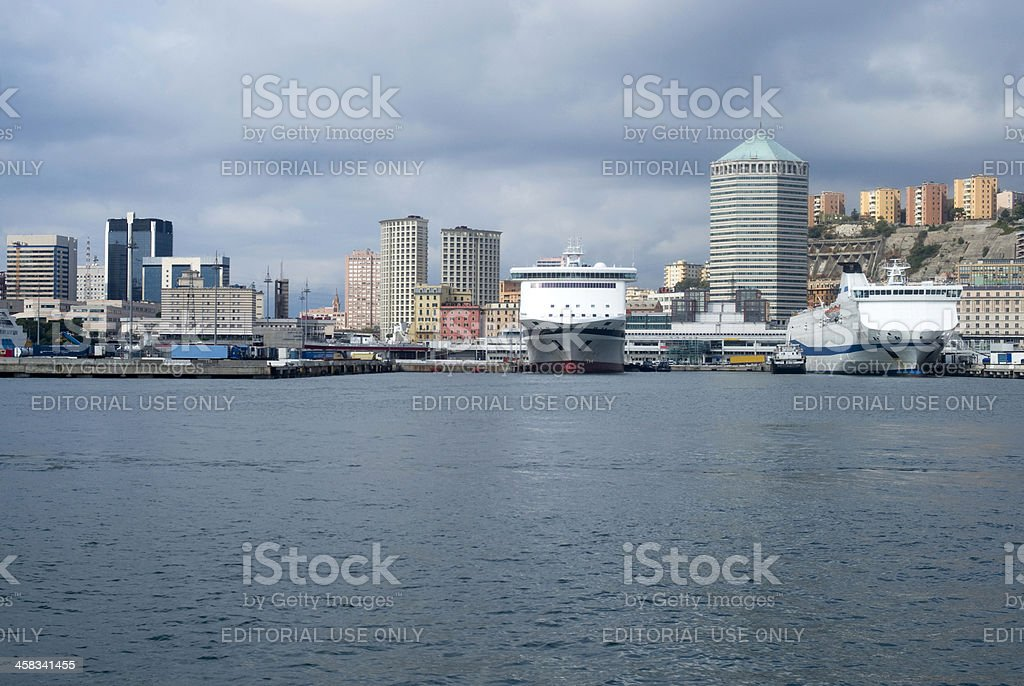 Genoa, Italy royalty-free stock photo