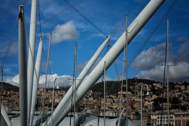 gênes - pont gênes photos et images de collection