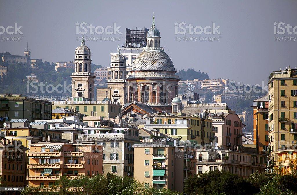Genoa. stock photo
