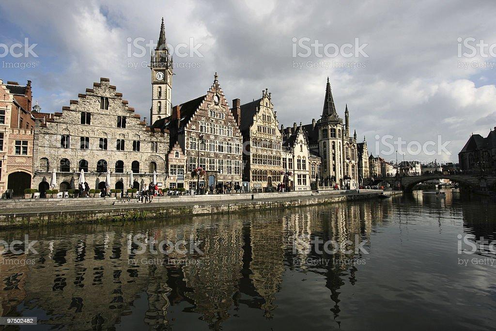 Gent royalty-free stock photo