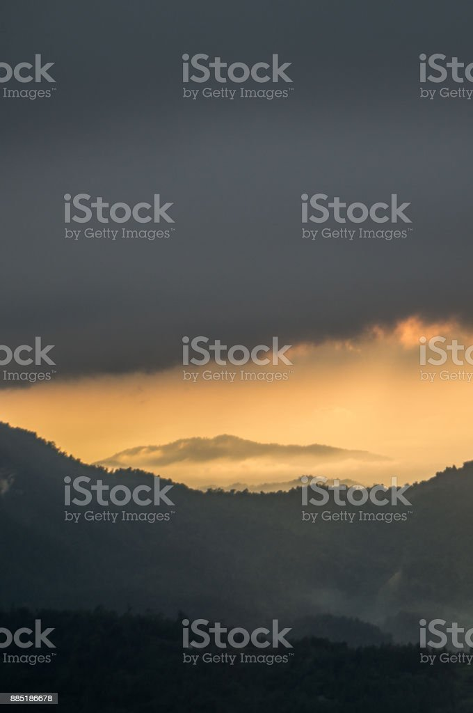 Genting Highland View stock photo