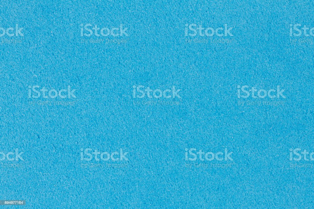 Gentle blue foam EVA texture with simple surface stock photo