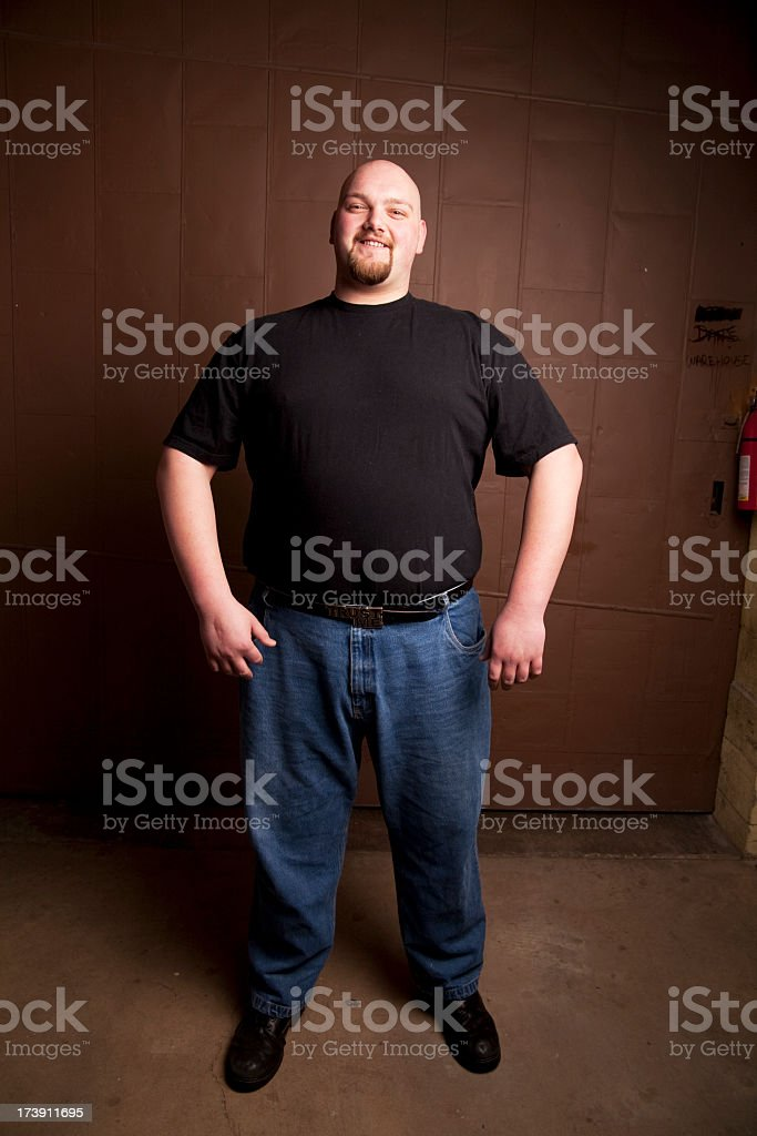 Gentle Giant stock photo