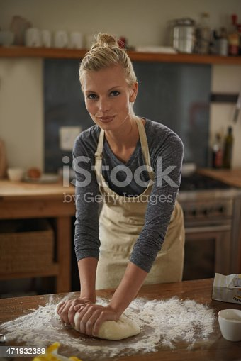 istock Gentle kneading is key! 471932389