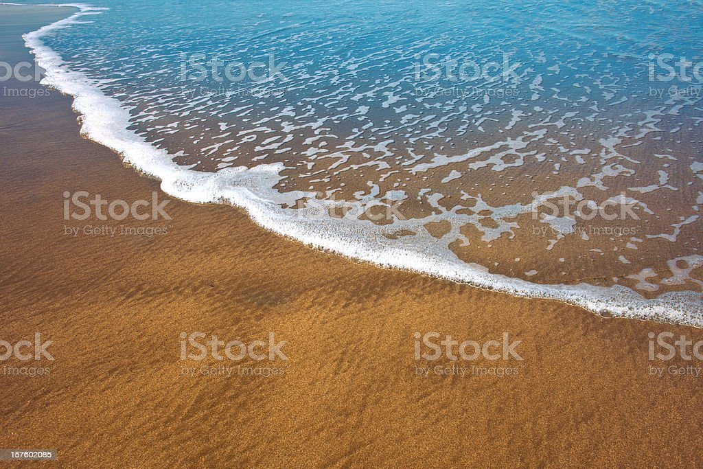 Gentle Surf stock photo