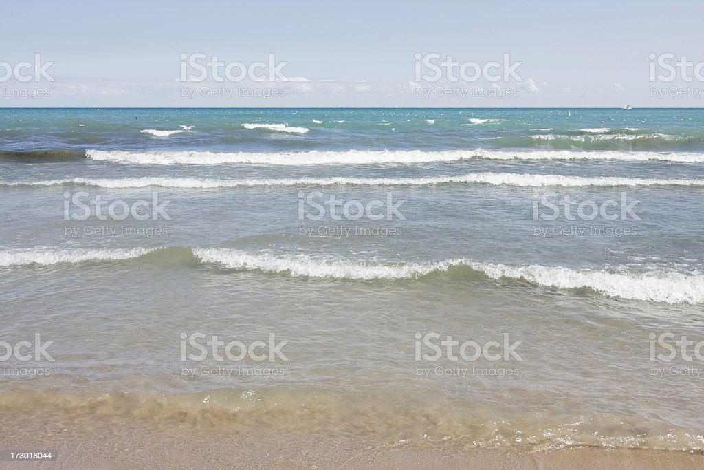 Gentle Waves royalty-free stock photo