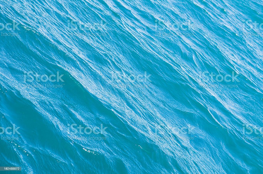 Gentle Waves Water Surface royalty-free stock photo