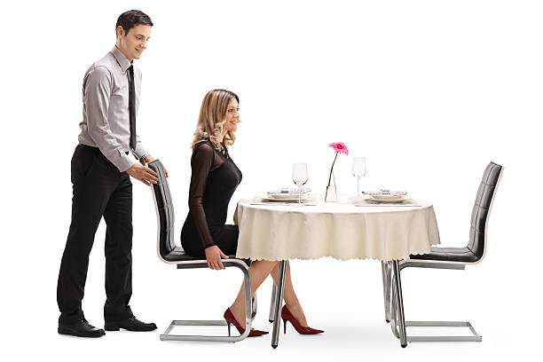 90 Man Pulling Chair Out For Woman Stock Photos, Pictures & Royalty-Free  Images - iStock