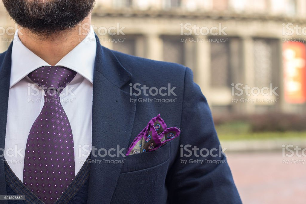 gentleman in a suit and tie photo libre de droits