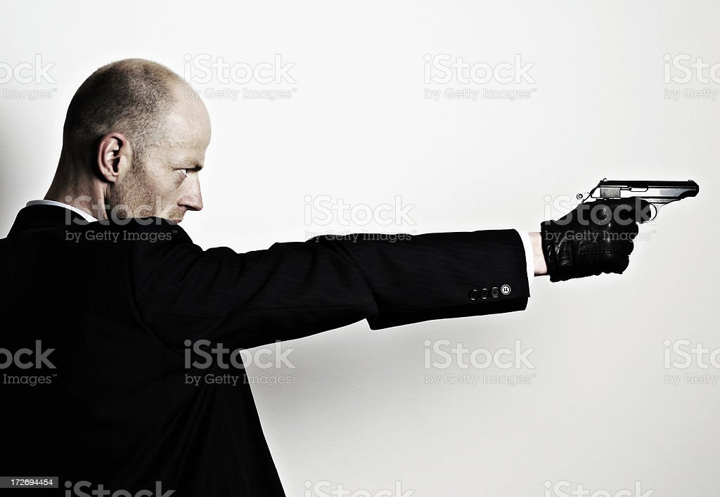 gentleman killer royalty-free stock photo