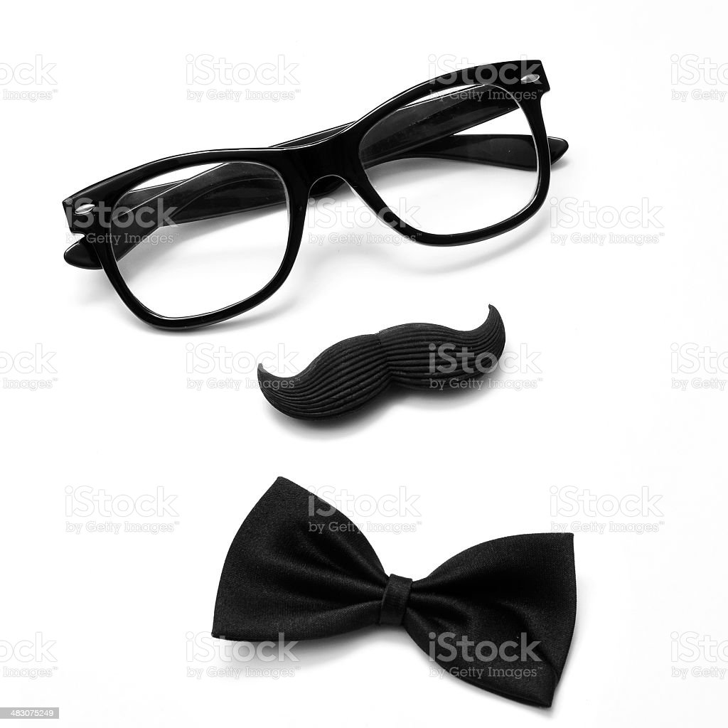 gentleman or hipster guy stock photo
