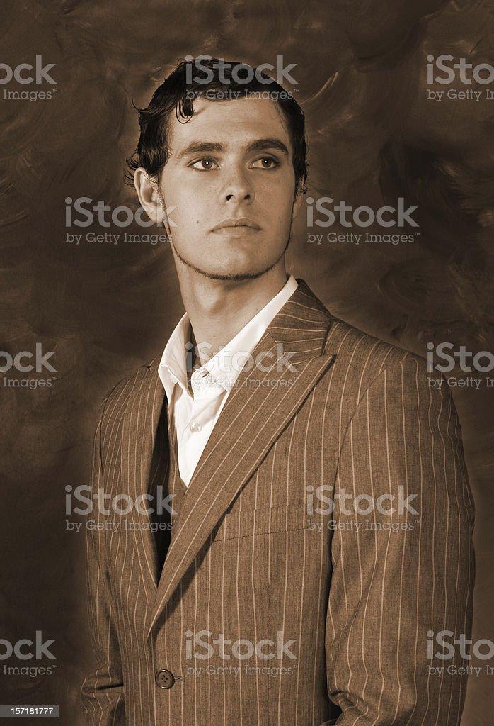 Gentleman royalty-free stock photo