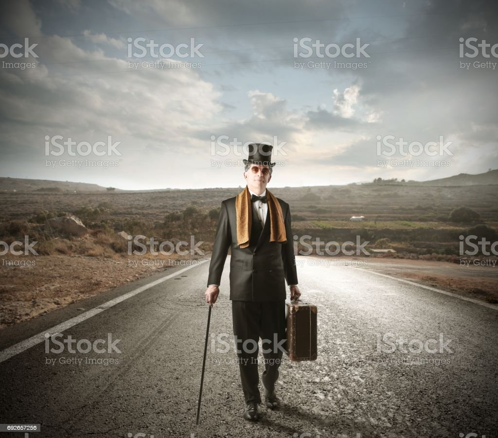 Gentleman stock photo