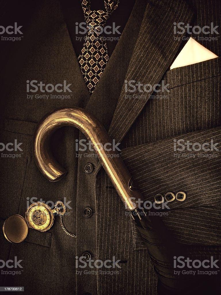 Gentleman's Suit royalty-free stock photo