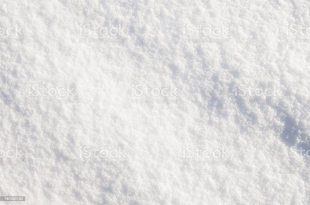 Gently Undulating Snow Background royalty-free stock photo