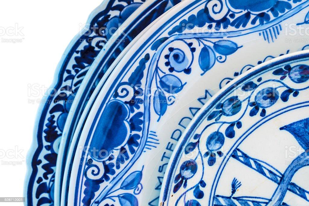Echte Alte Hollandische Blauem Und Weissem Porzellan Geschirr Stockfoto Und Mehr Bilder Von Alt Istock