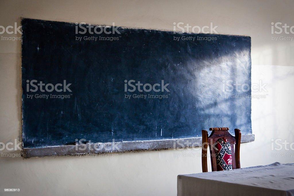 Genuine Chalkboard royalty-free stock photo